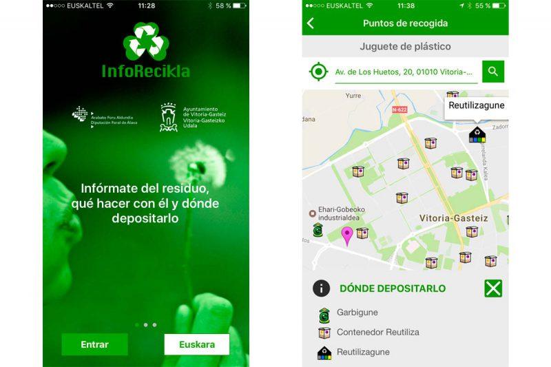 App InfoRecikla